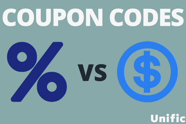 types of coupon codes
