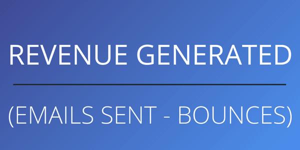 calculate revenue per email