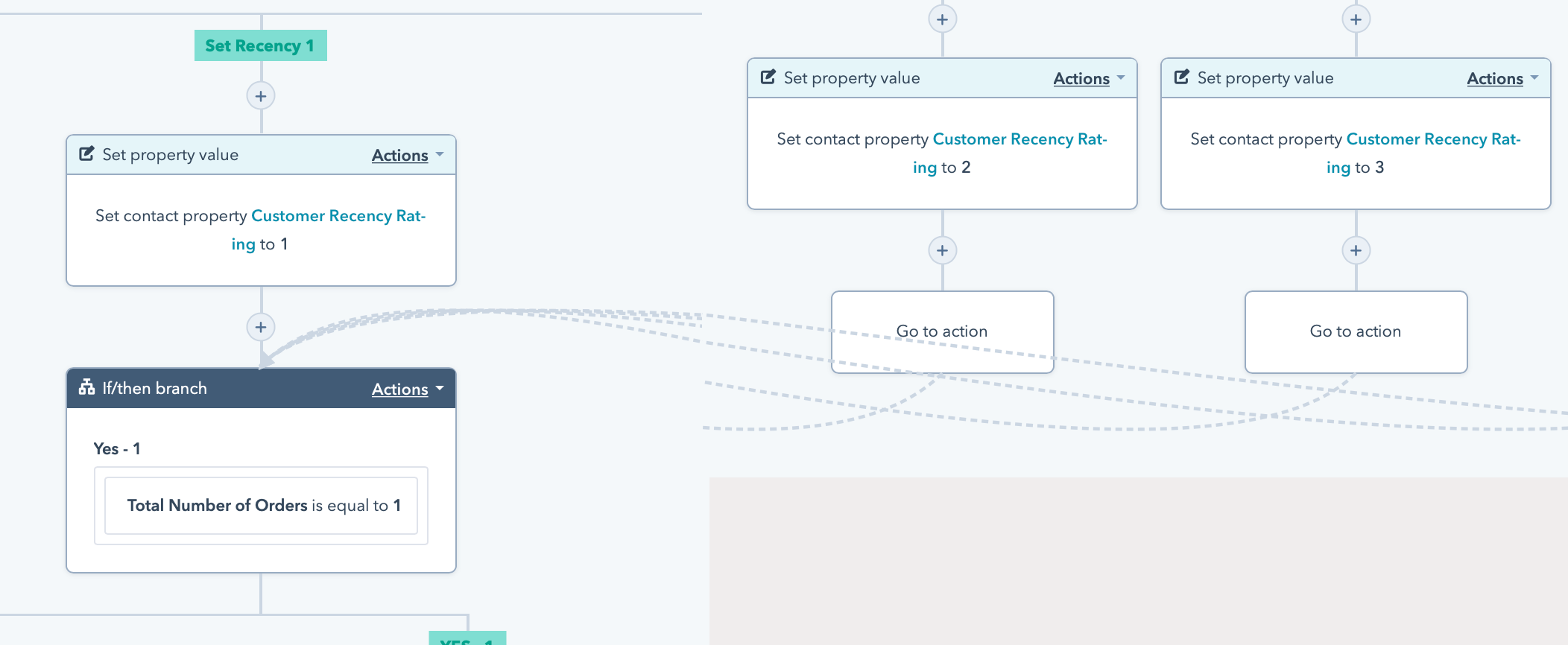 Workflow Actions Part 6 Go to action