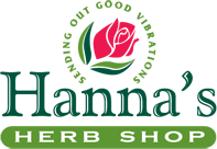 hannas herb shop logo