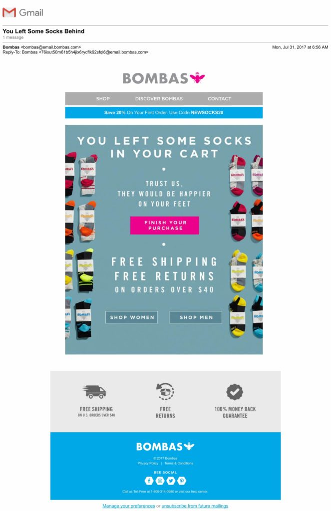 Abandoned Cart: The Ultimate Guide (examples, best-practices, swipe